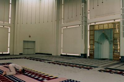 Person Performing Salah (New York City, NY)