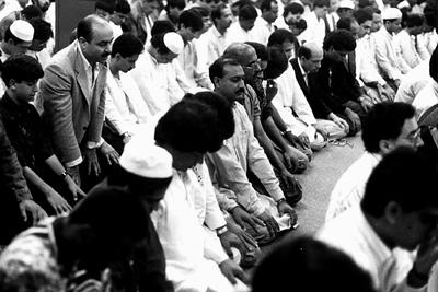 Jum'ah Prayers at the Islamic Center of Southern California