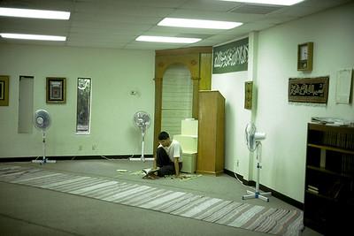 Mihrab in the Corner of a Houston Masjid (Houston, TX)