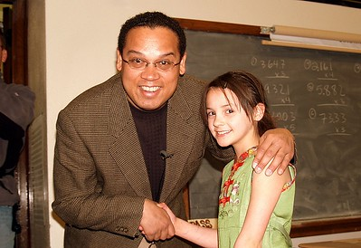 Rep. Keith Ellison Meets with a Student (Minneapolis, MN)