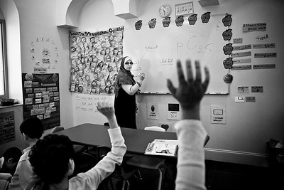 Students from Malik Academy Class (Roxbury, MA)