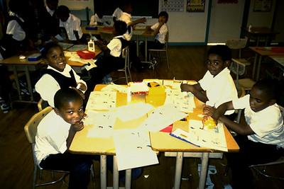 Children from Sister Clara Muhammad School (Oakland, CA)
