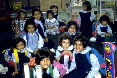 Kindergarten Girls from Islamic Foundation School (Villa Park, IL)