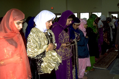 Women Praying During Eid Al-Fitr (Sharon, MA)
