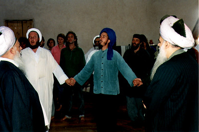 Shaykh Nazim al-Haqqani and Shaykj Hisham Kabbani Lead Spiritual Remembrance of God at the Lama Foundation (Taos, NM)