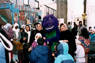 Children at the Eid al-Fitr Fair (Jamaica, NY)