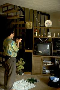Man Praying at Home (Atlanta, GA)