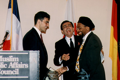 Spike Lee Receiving a Media Award from the Muslim Public Affairs Council (Los Angeles, CA)