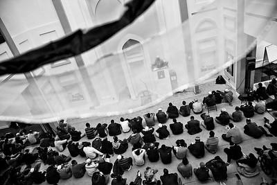 A View of the Jumu'ah, the Weekly Friday Prayer (Roxbury, MA)