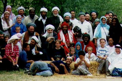 Shaykh Hisham Kabbani With Followers (Abiquiu, NM)