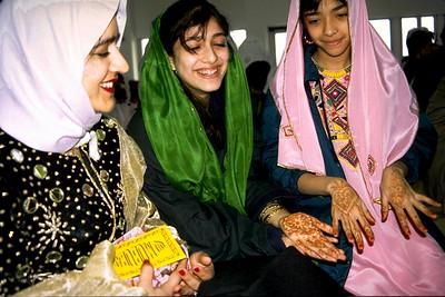 Young Women Enjoying Eid al-Fitr Festivities (Sharon, MA)
