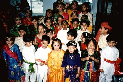 Jain Children Preparing for a Performance (San Francisco, CA)