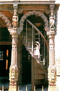 Detail of the Gateway to Luck Jain Temple Replica (Las Vegas, NV)