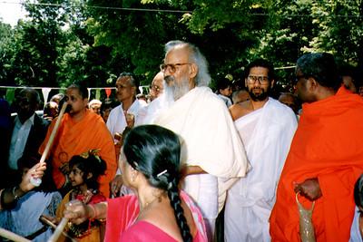 Sushil Kumar Outside Siddhachalam Jain Ashram (Blairstown, NJ)