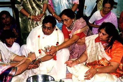 Hemendrah Shah Leads The Pratishtha Ceremony At A Jain Temple Opening (Cincinnati, OH)