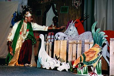 Man Performs A Jain Dance Drama At Mahavira Jayanti (San Diego, CA)