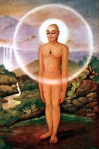 Painting Of Mahavira Deeply Absorbed In Meditation