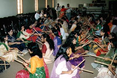 Jains Celebrating Paryushan with the Garba Dance (Morrisville, NC)