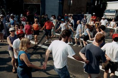 Brookline Residents Perform Israeli Folk Dancing to Celebrate Israel Independence Day (Brookline, MA)