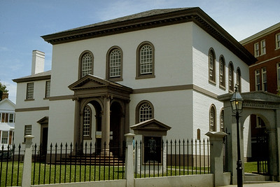 Touro Synagogue is the Oldest Surviving Synagogue in the United States (Touro, RI)