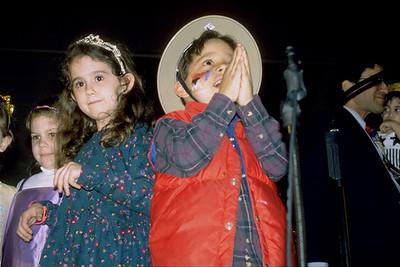 Children Celebrate Purin at B'nai Jeshurun