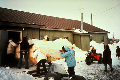 Blessing a Whaling Boat (Point Hope/Tikiġaq, AK)
