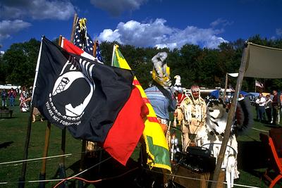 Honoring Veterans' Sacrifices at a Powwow