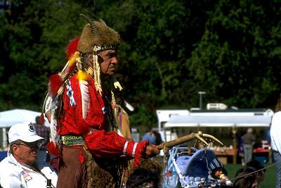 Elder Dancing at the Dighton Intertribal Powwow (Dighton, MA)