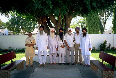 Members of the Sikh Temple of Stockton, California (Stockton, CA)