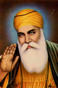 Depiction of Guru Nanak