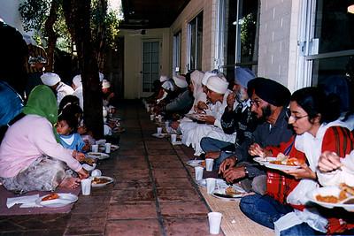 Langar at Guru Nanak Dwara Ashram (Phoenix, AZ)