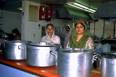 Preparing Langar at Gurdwara Sahib (Fremont, CA)