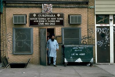 Sunday Morning at Gurdwara Singh Sabha (Flushing, NY)
