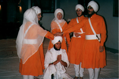 Amrit Ceremony at Sikh Dharma of New Mexico (Espanola, NM)