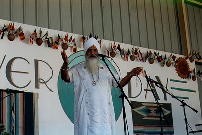 Yogi Bhajan at Annual Peace Prayer Day (Espanola, NM)