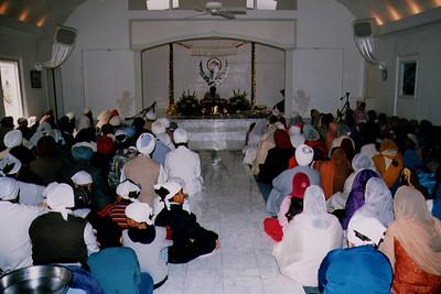 Interior of Sri Guru Singh Sabha (Glen Rock, NJ)