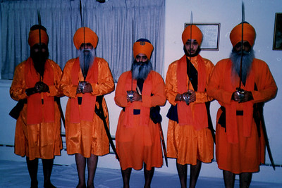 Initiation at the Sikh Religious Society of Chicago (Chicago, IL)