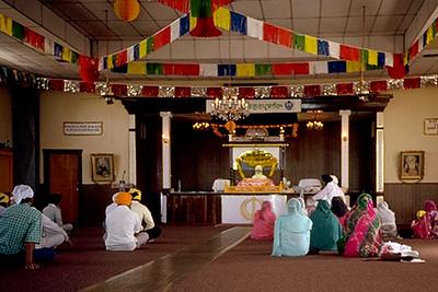 Interior of Sikh Temple (Stockton, CA)
