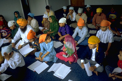 Youth Education Class at Sikh Temple of Hayward/Guru Granth Sahib Foundation (Hayward, CA)