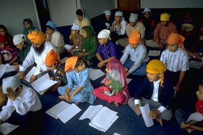 Youth Education Class at Sikh Temple of Hayward/Guru Granth Sahib Foundation (Hayward, CA)