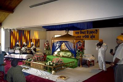 Wedding at Sikh Temple of Hayward/Guru Granth Sahib Foundation (Hayward, CA)
