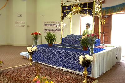Lectern at the Sikh Society of Florida (Miami, FL)