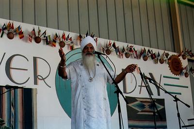 Yogi Bhajan at Annual Peace Prayer Day (Espanola, NM)