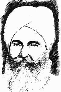 Drawing of Jwala Singh