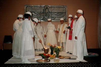 Ritual Inside a Dar-e-Mehr (Chicago, IL)