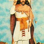 Illustration of the Prophet Zarathushtra