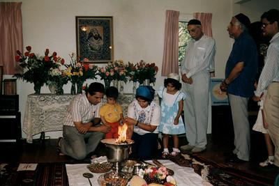 A Zoroastrian Ceremony