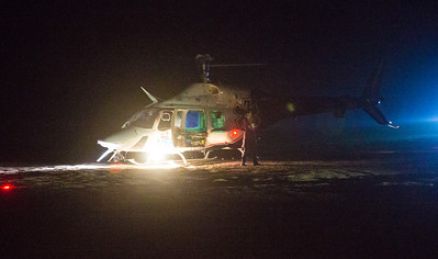 Mercy Air on scene of a off roading accident in 53 area(By Brandon Barsugli)