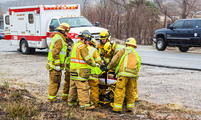 TE hwy 138, Single car roll over with cpr in progress(by Brandon Barsugli)