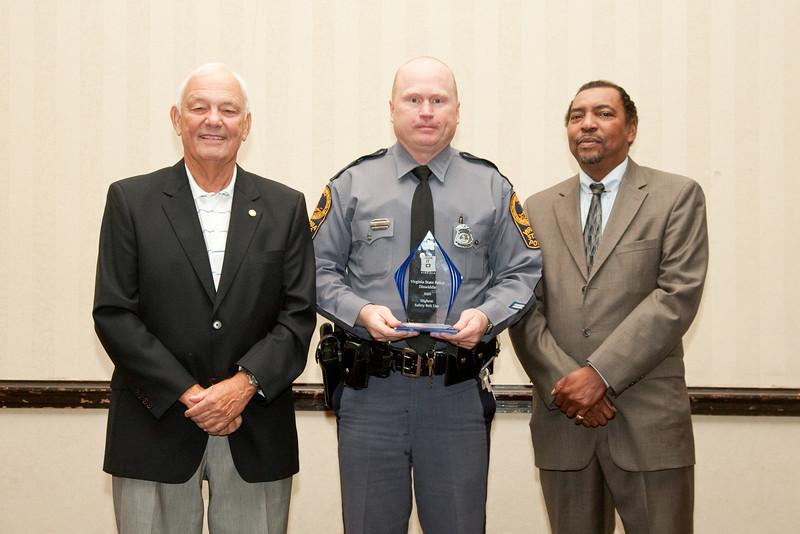 2009 CIOT Awards, Highest Belt Use: Virginia State Police - Dinwiddie Area Office